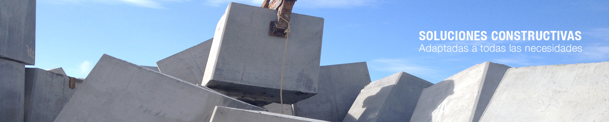 Bloques de hormigón para la construcción